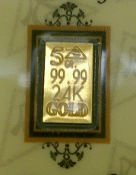 5 Grain 24K 99.99 Fine Gold Bullion Bar - CERTIFICATE